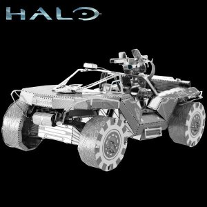 UNSC Warthog - HALO - Metal Earth