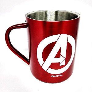Caneca de Aço - Vingadores - Marvel - 400 ml