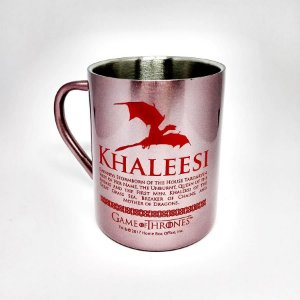 Caneca de Aço - Khaleesi - Game of Thrones - 400 ml