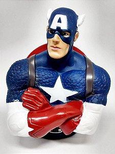 Cofre Busto - Capitão América - Marvel - Zona Criativa