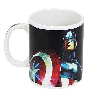 Caneca Mágica - Capitão América - Marvel - 300 ml