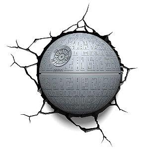 Luminária Estrela da Morte - Star Wars - 3D Light FX