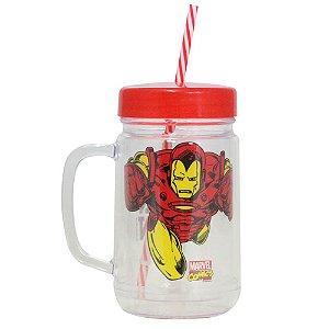 Copo Jarra - 500mL - Homem de Ferro - Marvel