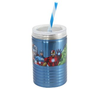 Copo de Metal - Vingadores - Marvel - 550 ml