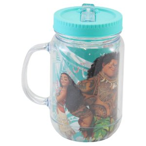 Copo Jarra - 500mL - Moana - Disney