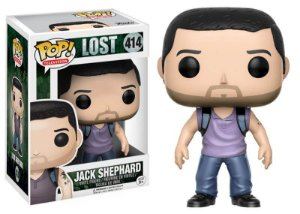 Funko Pop Series Jack - Lost #414