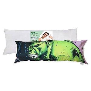 Travesseiro - Hulk - Marvel - 1,3 x 0,45m