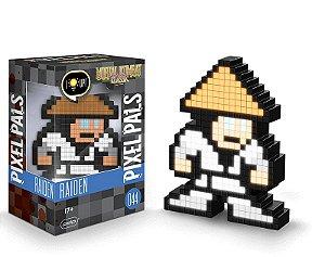 Luminária - Pixel Pals - Mortal Combat - Raiden