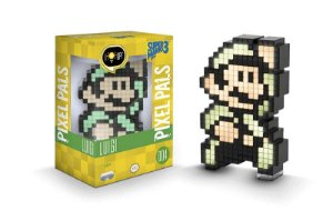 Luminária - Pixel Pals - Luigi - Super Mario Bros 3