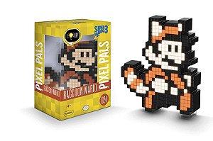Luminária - Pixel Pals - Mario Bros - Tanooki - Super Mario Bros 3