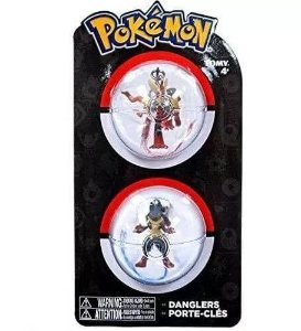 Chaveiros Pokemon - Mega Blaziken e Mega Lucario - Tomy