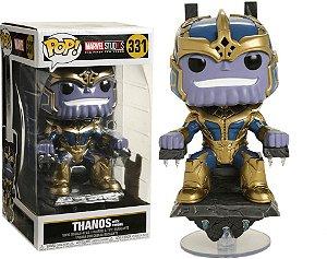 Funko Pop Thanos with Throne - Edição Especial - 10 anos Marvel Studios