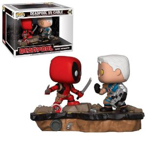 Funko Pop Deadpool vs Cable - Comic Moments - Marvel #318