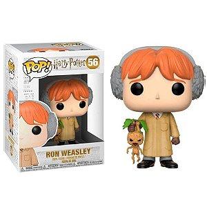 Funko Pop Rony Weasley - Aula de Herbologia - Harry Potter #56