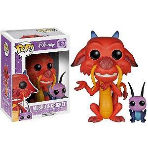 Funko Pop Mushu & Cricket (Gri-li) - Mulan - Disney #167