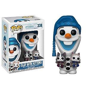 Funko Pop Olaf com Gatinhos - Frozen - Disney #338