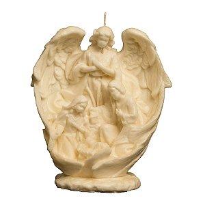 Sagrada Família com Anjo de Asa Aberta