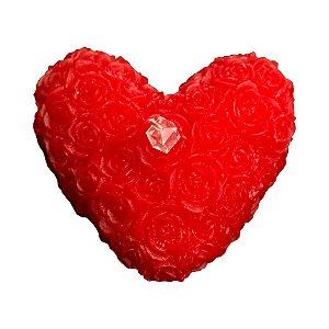 Coração Deitado Flor