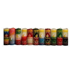 Caixa com 12 velas votivas de 7 dias 310g Candel'Art