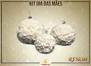 Kit de Dia das Mães: Bola Flor