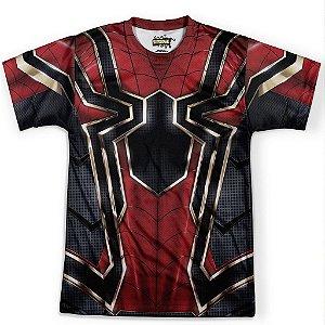 Camiseta Masculina Homem Aranha Traje Spider-Man Guerra Infinita Md07