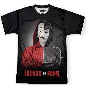 Camiseta Masculina La Casa de Papel md01