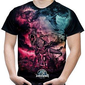 Camiseta Masculina Parque dos Dinossauros Jurassic World Md02