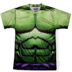 Camiseta Masculina Hulk Traje Estampa Total
