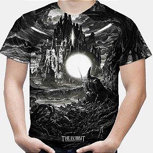 Camiseta Masculina O Hobbit Estampa Total Md01