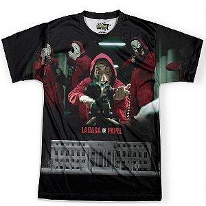 Camiseta Masculina La Casa de Papel md02