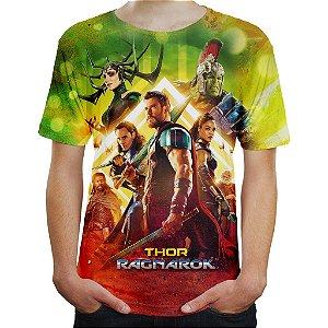 Camiseta Masculina Thor Vs Hulk Thor Ragnarok Md02