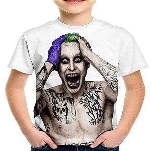 Camiseta Infantil Coringa Joker  - Batman Universe