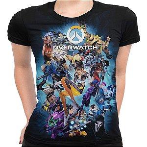 Camiseta Baby Look Feminina Overwatch Over Watch Md04