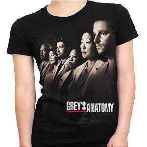 Camiseta Baby Look Feminina Grey's Anatomy