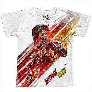 Camiseta Infantil Homem Formiga Estampa Total Md05