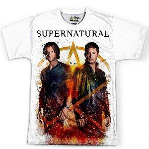 Camiseta Masculina Serie Supernatural Sobrenatural Md06