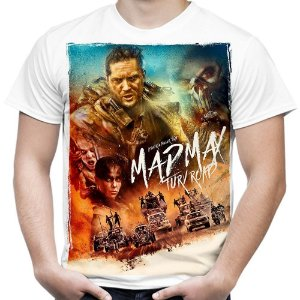 Camiseta Masculina Mad Max Estampa Total Md03