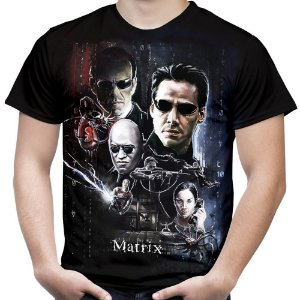 Camiseta Masculina Matrix Estampa Total
