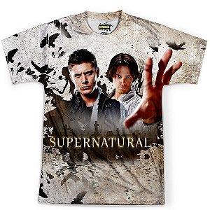 Camiseta Masculina Serie Supernatural Sobrenatural Md07