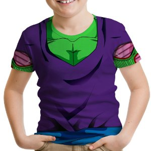 Camiseta Infantil Traje Piccolo Estampa Total