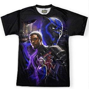 Camiseta Masculina Pantera Negra Mod 02