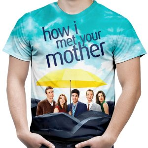 Camiseta Masculina How I Met Your Mother