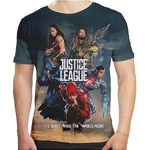 Camiseta Masculina Liga da Justiça Md03