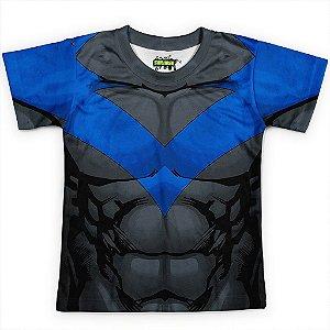 Camiseta Infantil Asa Noturna  - Batman Series