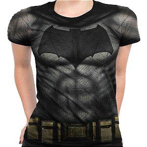 Baby Look Feminina Batman Traje Md02