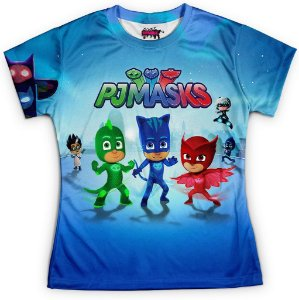 Baby look Feminina PJ Masks Md01