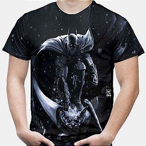 Camiseta Masculina Batman Arkham Estampa Total