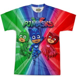 Camiseta Masculina PJ Masks Md02
