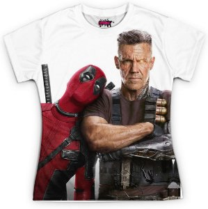 Camiseta Baby Look Filme Deadpool Md07