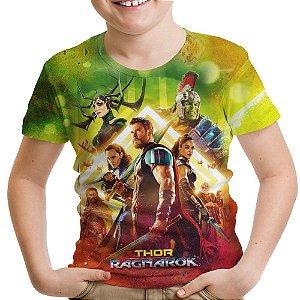 Camiseta Infantil Thor Ragnarok Md02
